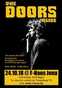 THE DOORS ALIVE @ F-Haus | Jena | Thüringen | Deutschland