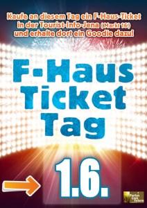 Tickettag @ Tourist-Information | Jena | Thüringen | Deutschland
