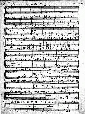 Hymnus An Freundschaft