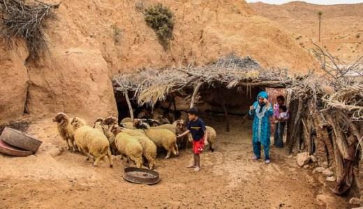 チュニジアの居穴住居の暮らし