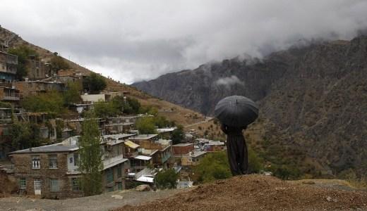 <イラン> 外国人も滅多に行かない辺境地「ホウラマン」にて