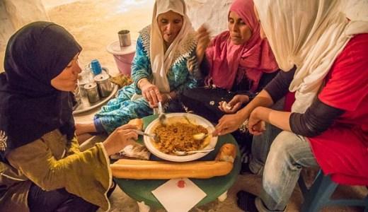「バルコークシュ」(チュニジア郷土料理)の作り方