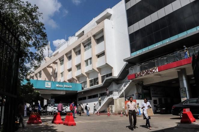 インド・チェンナイの病院