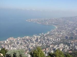 レバノンベイルートの街並み