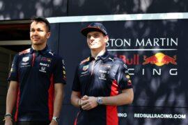 Verstappen & Albon Britse Grand Prix Preview