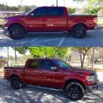 Chrome Or Black Rims On A 2014 F150 Ruby Red Metallic F150 Ecoboost Forum