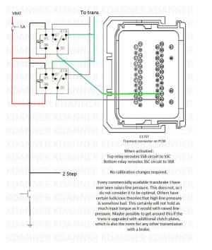 Trans brake wiring schematic, can somebody check this