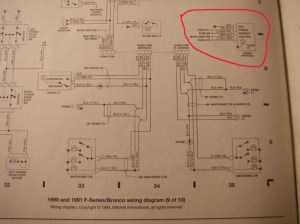 Wiring Diagram For 1991 Ford F150  Ford F150 Forum  Community of Ford Truck Fans