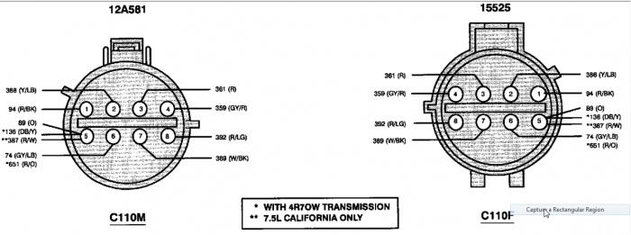 e4od transmission schematic for