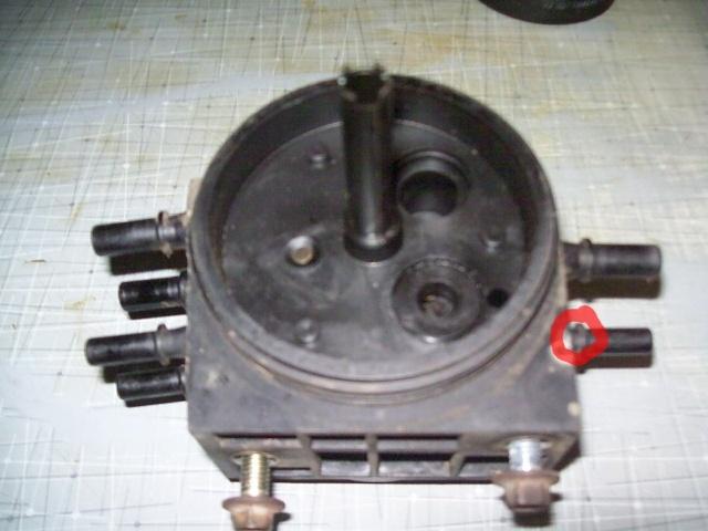 Broken Fuel Tank Selector Valve