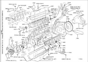 Need a good 49L 300 engine drawing  Ford F150 Forum