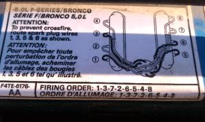 Help I need a 96 f150 50 spark plug firing order diagram  Ford F150 Forum  Community of Ford