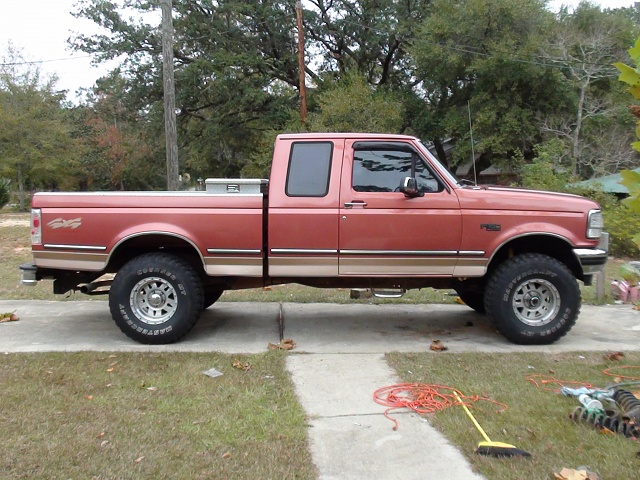 5 150 Inch F Lift Ford 95