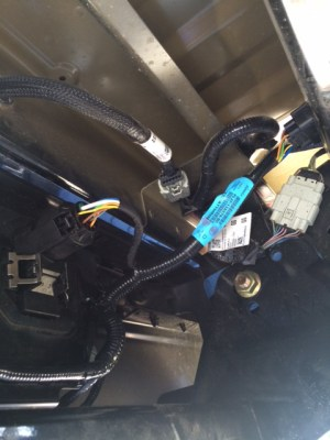 Factory 7 Pin Trailer Connector Wiring Diagram For Ford F