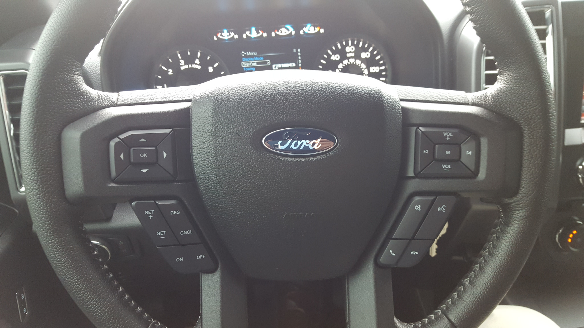2015 Leather Steering Wheel Ford F150 Forum Community