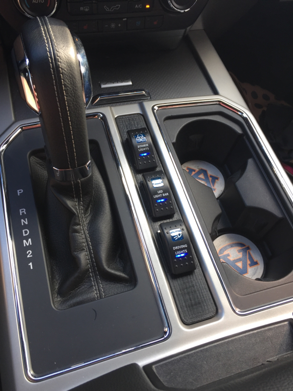 Rocker Switch Mounting