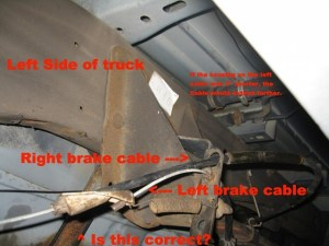 2003 F150 ebrake cable question  Ford F150 Forum  Community of Ford Truck Fans