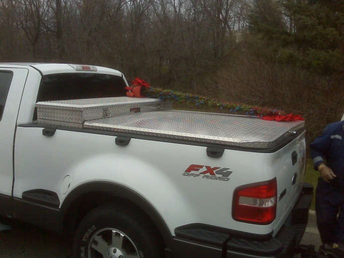 A Home Made Diamond Plate Tonneau Cover Ford F150 Forum