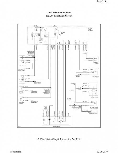 1993 f150 headlight wiring diagram  auto wiring diagrams