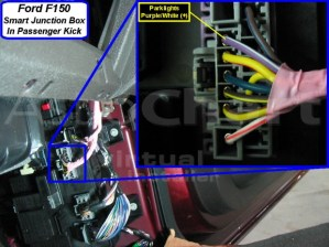 2010 remote starter wiring info and pics to match  Ford