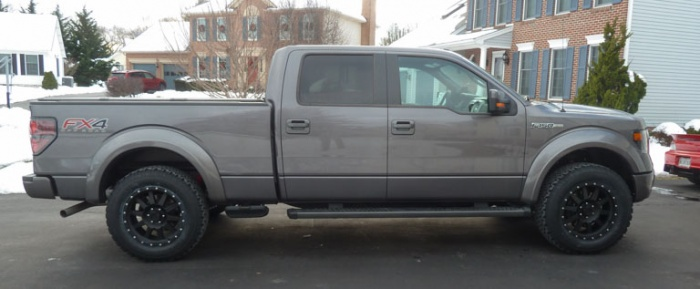 2013 Ford F 150 Supercrew Bed