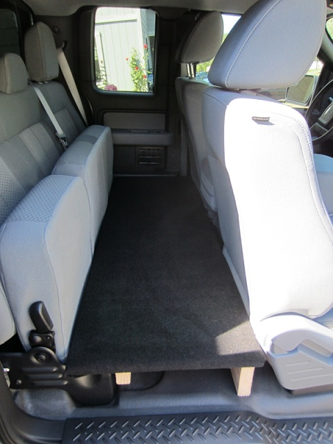 Bed Sleep Platform In Rear Seat Area Of A Scab Page 4
