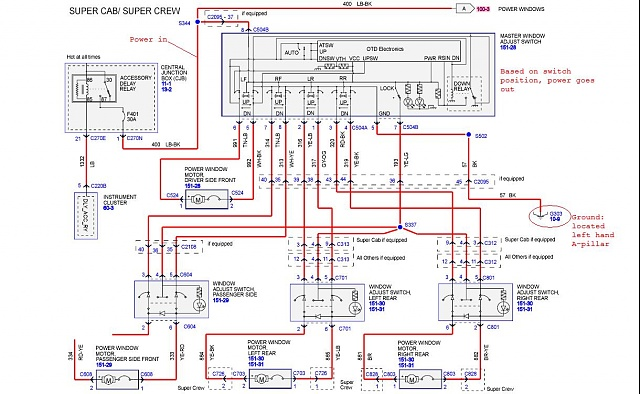 66589d1322117239t 2009 sxt non power seat wiring diagrams wiriing?resize=640%2C394 2004 ford f150 window wiring diagram wiring diagram,2004 F 150 Wiring Harness