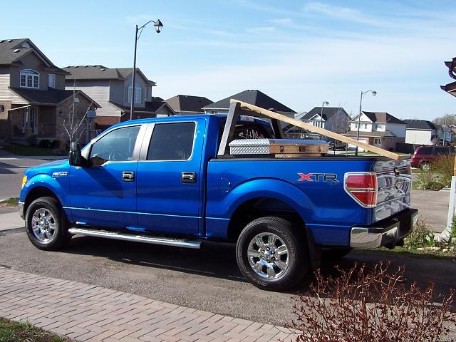 homemade ladder rack ford f150 forum