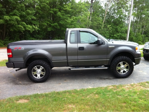 F 150 2wd Regular Cab Lifted