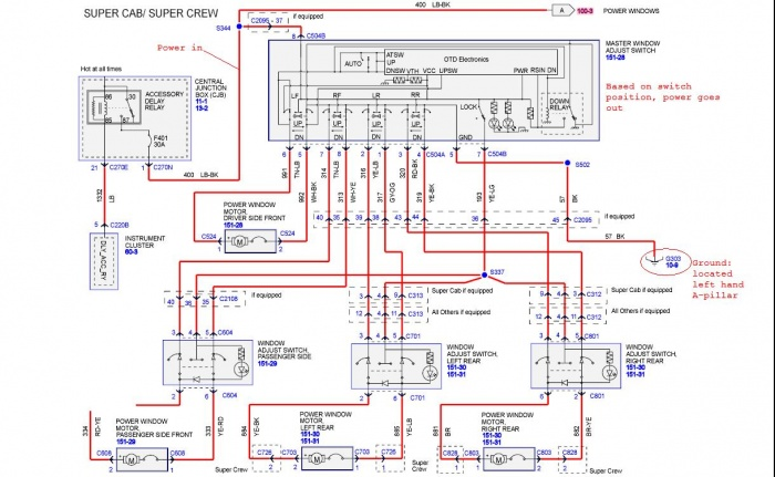 50541d1312384163 window malfunction f150 2005 wiring diagrams power window 2005 f150 wiring diagram diagram wiring diagrams for diy car repairs 2004 f150 trailer wiring diagram at gsmx.co