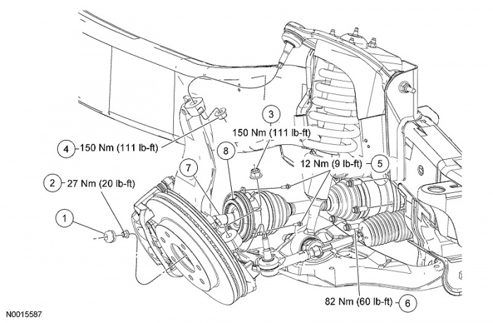 2006 Ford F 150 Parts Diagram