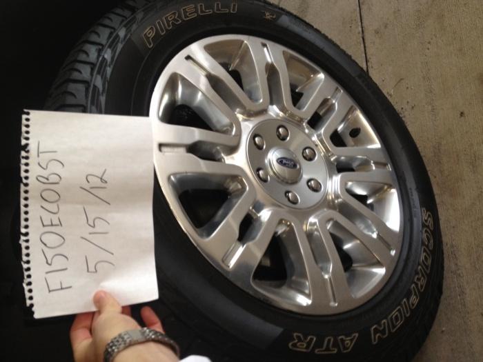 F150 2012 Tires