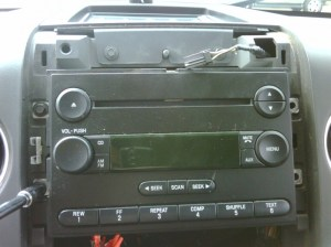 How to Remove Factory Radio for InDash Navigation on 2004 & Up F150's  Ford F150 Forum