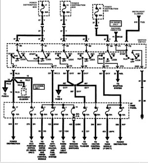 ignition wire diagram 1996 f150  Ford F150 Forum