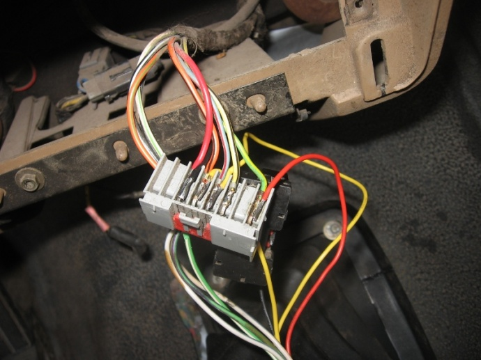 F150 Radio Wire Help
