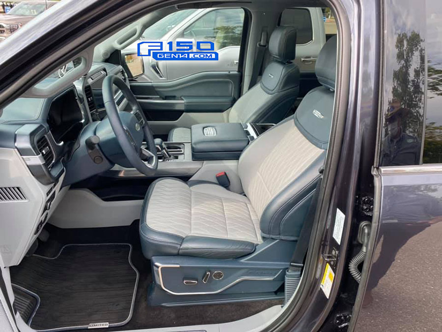 However, the interior still might be lacking compared to rivals. Limited Interior Photos Videos 2021 F 150 14th Gen F150gen14 Com 2021 Ford F 150 Lightning Ev Raptor Forum 14th Gen