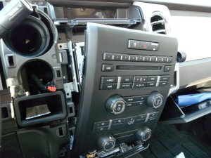 My speaker upgrade using factory head unit  F150online Forums