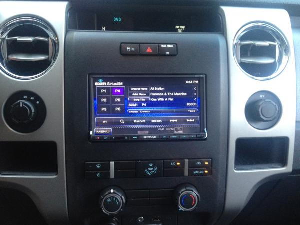 2011 F150 Adding Aftermarket NAV Double Din Page 3