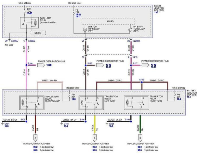 ford f550 trailer wiring diagram wiring diagram ion for those electric trailer brakes ford truck