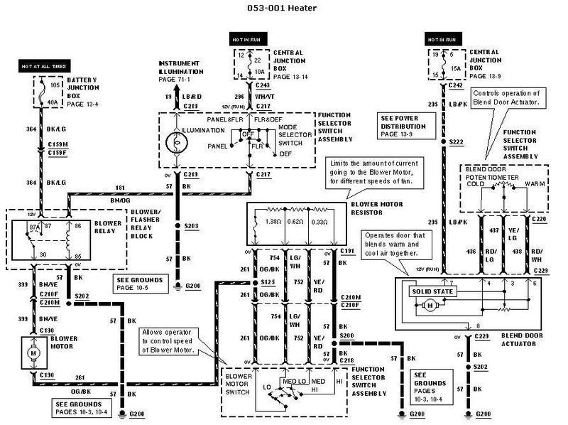 bmw e36 heater control wiring diagram