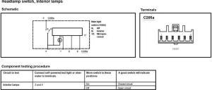 headlight switch wiring diagram 2002 f150  F150online Forums