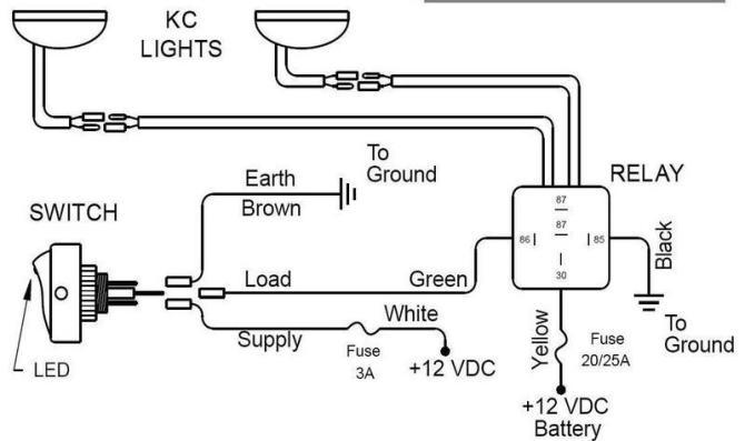 diagram for kc light relay wiring diagram full version hd