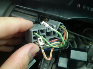 Wire's ing out of wire harness (Windshield WiperTurn Signal)  F150online Forums