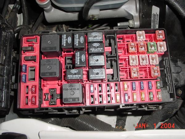 2002 Ford Taurus Fuse Box Location Daily Trending