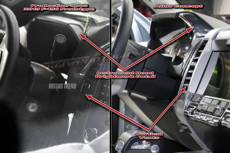 2015 ford f 150 interior spy shot 2 f150online com