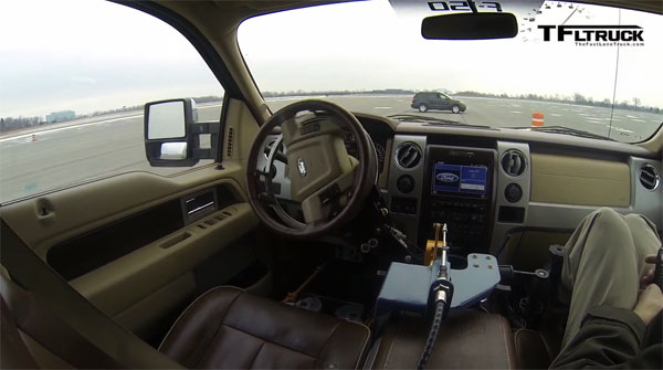 Ford F-150 Remote-Controlled Durability Tester