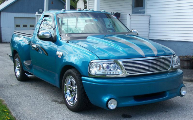 ride   ford     custom teal paint job fonlinecom