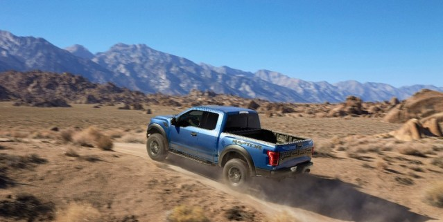 2017 Ford Raptor Rear End Driving