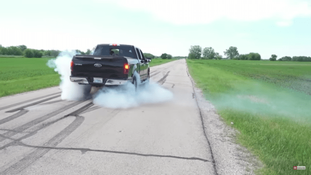 2017 Ford F-150 XLT Burnout