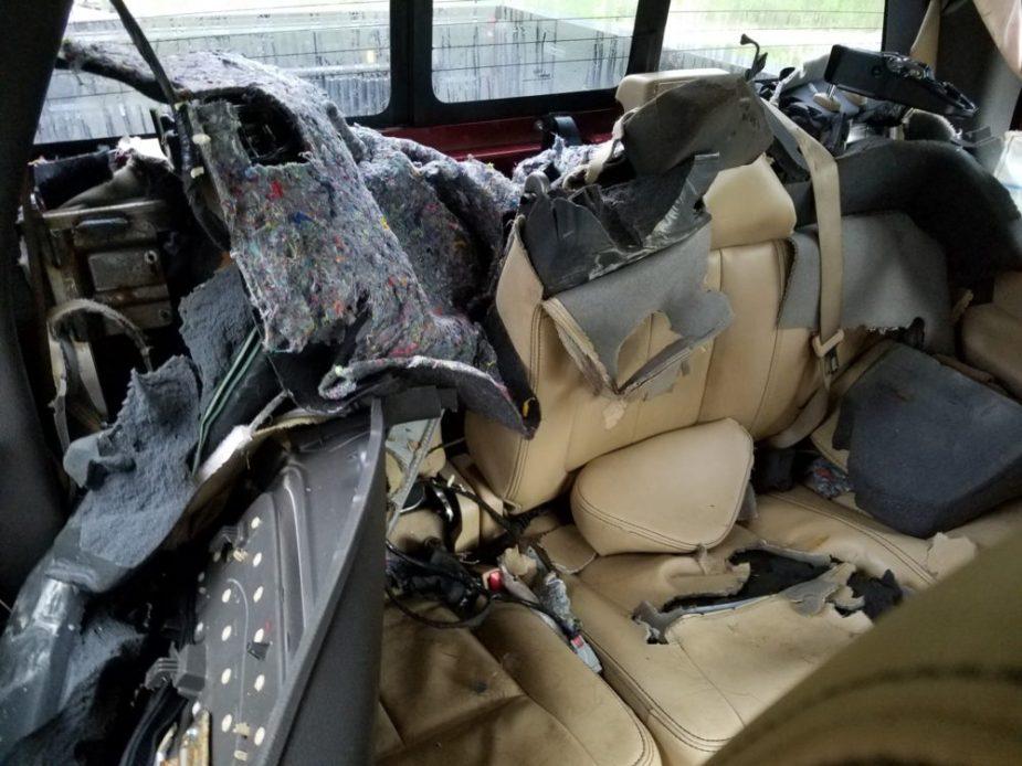 F-150 Wrecked by Chevy Kodiak Bear